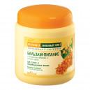 Бальзам-питание с экстрактами облепихи и липового цвета для сухих и поврежденных волос (450 мл)