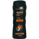 Гель для мытья тела и волос для него Заряд энергии (250мл)