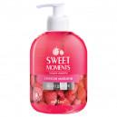 "Жидкое мыло для рук SWEET MOMENTS ""Спелая малина"" (500 мл)"